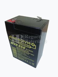 Batería alto rendimiento para cohe, moto, triciclo de niño 6 Voltios 5 Amperios
