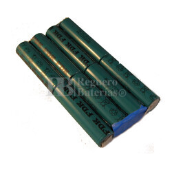 Batería para Comprobador de cable Lantek 6 de Ideal Industries 9.6 Voltios 3.500 mah