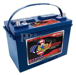 Bateria para embarcación 12 voltios 105 Amperios C20 349x171x238 mm US Battery US27DCXC