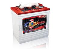 Bateria para embarcación 6 voltios 232 Amperios C20 260x181x286 mm US Battery US2200XC2