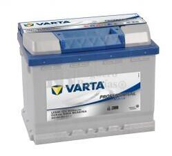 Batería para embarcaciones VARTA 12 Voltios 60 Ah Profesional Starter 930 060 054 Ref.LFS60 EN 540A 242X175X190