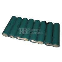 Batería para Equipo de Diagnosis GenRad GDS 3500 9.6 Voltios 3.500 mah