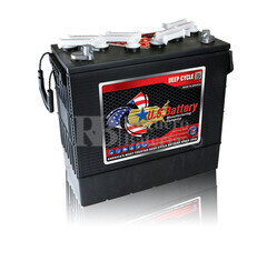 Bateria para Fregadora Barredora 12 voltios 200 Amperios C20 397x178x378 mm US Battery US185XC2