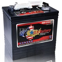 Batería para Fregadora en 6 voltios 216 Amperios US Battery US2000XC2