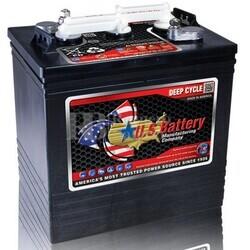 Bater�a para Fregadora en 6 voltios 216 Amperios C20 260x181x286 mm US Battery US2000XC2