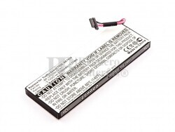Bateria para GPS Becker BE7928, Traffic Assist 7928, BP-LP1100/12-A1