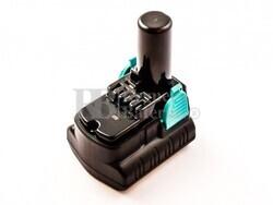 Batería para Hitachi DB 3DL 10,8 Voltios 4 Amperios Li-ion