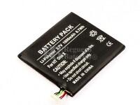 Batería para HTC One X, Li-Polymer, 3,7V, 1800mAh, 6,7Wh