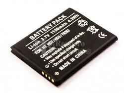 Bateria para HTC Wildfire S HTC HD3, HTC HD7, HTC T9292