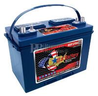 Bateria para instalación solar 12 voltios 105 Amperios C20 349x171x238 mm US Battery US27DCXC
