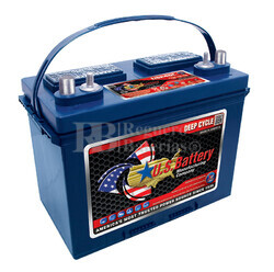 Bateria para instalaci�n solar 12 voltios 85 Amperios C20 279x171x248 mm US Battery US24DCXC