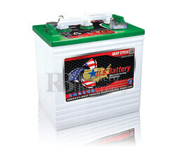 Bateria para instalaci�n solar 6 voltios 242 Amperios C20 260x181x286 mm US Battery US125XC2