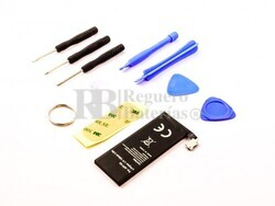 Batería para Apple iPhone 4G, iPhone 4G 16GB, iPhone 4G 32GB  Li-Polymer, 3,7V, 1420mAh, 5,2Wh