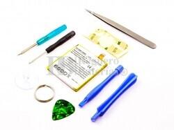 Bateria para LG Nexus 5, Li-Polymer, 3,8V, 2300mAh, 8,7Wh, con kit de herramientas