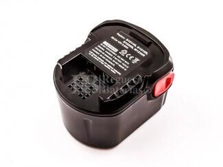 Bateria para Maquinas AEG 12 Voltios 2.000 mAh Ni-CD, BS 12 G, BS 12X, BSB 12 G, BSB 12 STX, BSS 12 RW