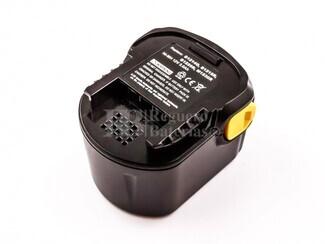 Batería para Maquinas AEG 12 Voltios 3.000 mAh Ni-Mh, BS 12 G, BS 12X, BSB 12 G, BSB 12 STX, BSS 12 RW
