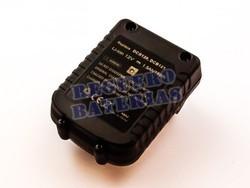 Bater�a para maquinas Dewalt DCB120, Li-ion, 12V, 1500mAh, 18,0Wh, compatible con bater�as originales de 10.8V
