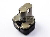 Batería para máquinas Hitachi D10DD 9,6V 2A