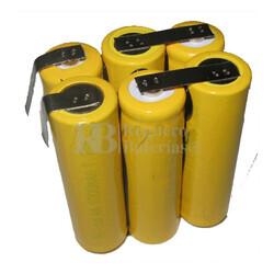 Batería para Medidor de Aspereza Perthometer M4P 7,2 Voltios 2.200 mah
