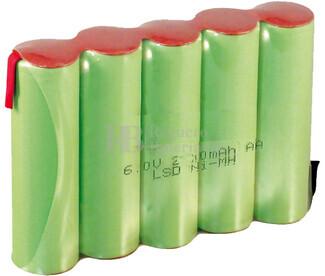 Batería para Medidor de Rugosidad Perthometer M1 CNOMO 6 Voltios 2.200 mah