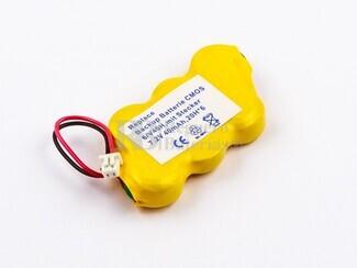 Bateria para memoria Backup 7,2 Voltios 40 mah NI-MH 41,8 x 22,0 x 7,0 mm