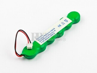 Bateria para memoria Backup 7,2 Voltios 40 mah NI-MH 70,9 x 12,7 x 6,6 mm