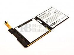 Batería para Microsoft Surface RT, Li-Polymer, 7,4V, 4120mAh, 30,5Wh