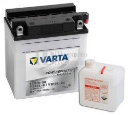 Batería para Moto VARTA 12 Voltios 11 Ah en C10 PowerSports Freshpack Ref.511013009 12N10-3B - YB10L-B2 - YB10L-B EN 150 A 136x91x146