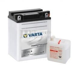 Batería para Moto VARTA 12 Voltios 12 Ah en C10 PowerSports Freshpack Ref.512015012 YB12A-B  EN 160 A 136x82x161