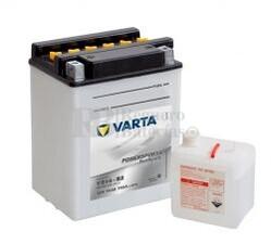 Bater�a para Moto VARTA 12 Voltios 14 Ah en C10 PowerSports Freshpack Ref.514014014 YB14-B2  EN 190 A 134x89x166