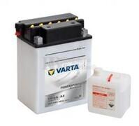 Batería para Moto VARTA 12 Voltios 14 Ah en C10 PowerSports Freshpack Ref.514401019 YB14A-A2  EN 190 A 135x90x177