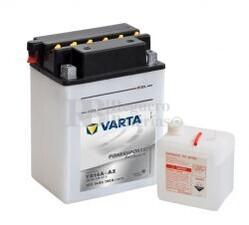 Bater�a para Moto VARTA 12 Voltios 14 Ah en C10 PowerSports Freshpack Ref.514401019 YB14A-A2  EN 190 A 135x90x177