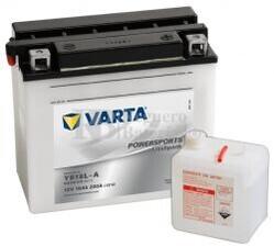 Batería para Moto VARTA 12 Voltios 18 Ah en C10 PowerSports Freshpack Ref.518015018 YB18L-A EN 200 A 181x90x160