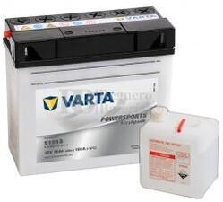 Batería para Moto VARTA 12 Voltios 19 Ah en C10 PowerSports AGM Ref.519013017 51913 EN 100 A 186x82x171