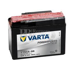 Batería para Moto VARTA 12 Voltios 2.3 Ah en C10 PowerSports AGM Ref.503903004 YTR4A-BS EN 30 A 114x49x86
