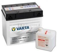 Batería para Moto VARTA 12 Voltios 25 Ah en C10 PowerSports Freshpack Ref.525015022 52515 / Y60-N24L-A EN 300 A 186x130x171