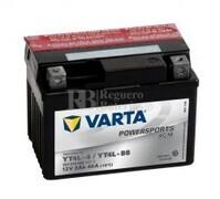 Batería para Moto VARTA 12 Voltios 3 Ah en C10 PowerSports AGM Ref.503014003 YT4L-4/YT4L-BS EN 40 A 114x71x86
