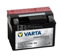 Batería para Moto VARTA 12 Voltios 3 Ah en C10 PowerSports AGM Ref.503014003 YT4L-4-YT4L-BS EN 40 A 114x71x86