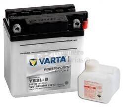 Batería para Moto VARTA 12 Voltios 3 Ah en C10 PowerSports Freshpack Ref.503013001 YB3L-B EN 30 A 100x58x112