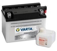 Batería para Moto VARTA 12 Voltios 4 Ah en C10 PowerSports Freshpack Ref.504011002 YB4L-B EN 50 A 121x71x93