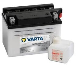 Bater�a para Moto VARTA 12 Voltios 4 Ah en C10 PowerSports Freshpack Ref.504011002 YB4L-B EN 50 A 121x71x93