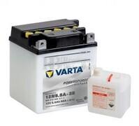 Batería para Moto VARTA 12 Voltios 5,5 Ah en C10 PowerSports Freshpack Ref.506012004 12N5.5A-3B EN 58 A 103x90x114