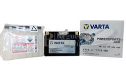 Bater�a para Moto VARTA 12 Voltios 7 Ah en C10 PowerSports AGM Ref.507901012 YT7B-4/YT7B-BS EN 120 A 150x66x94