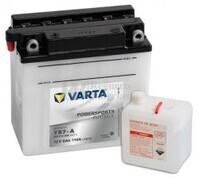 Batería para Moto VARTA 12 Voltios 8 Ah en C10 PowerSports Freshpack Ref.508013008 YB7-A EN 110 A 137x76x134