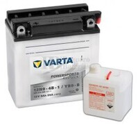 Batería para Moto VARTA 12 Voltios 9 Ah en C10 PowerSports Freshpack Ref.509014008 12N9-4B-1 / YB9-B EN 85 A 136x76x139