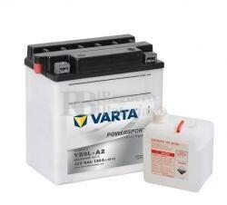 Bater�a para Moto VARTA 12 Voltios 9 Ah en C10 PowerSports Freshpack Ref.509016008 YB9L-A2 EN 130 A 135x75x139