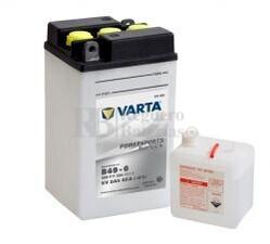 Batería para Moto VARTA 6 Voltios 8 Ah en C10 PowerSports Freshpack Ref.008011004 B49-6 EN 40 A 91x83x161