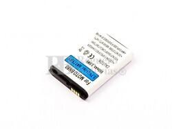 Bateria para Motorola Backflip, Li-ion, 3,7V, 950mAh, 3,5Wh