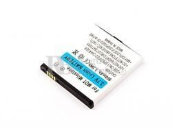 Bateria  para Motorola Milestone, Li-ion, 3,7V, 900mAh, 3,3Wh