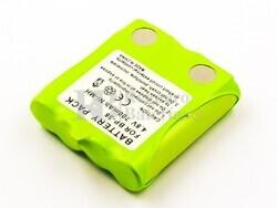 Batería para MOTOROLA TLKR-T4, TLKR-T5, TLKR-T7, IXNN4002A, NiMH, 4,8V, 700mAh, 3,4Wh